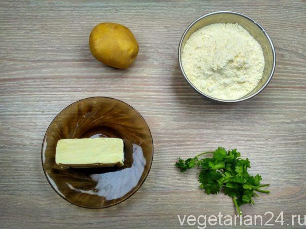Ингредиенты для приготовления пирожков