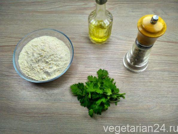 Ингредиенты для приготовления Уйгурской лепешки