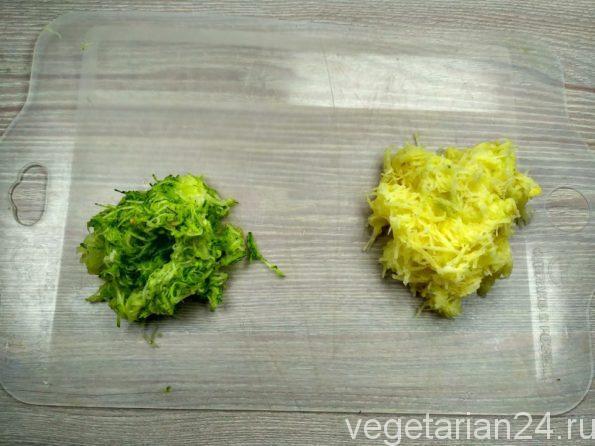 Овощи для постных драников
