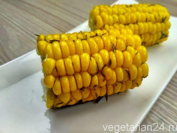 запеченная кукуруза в духовке