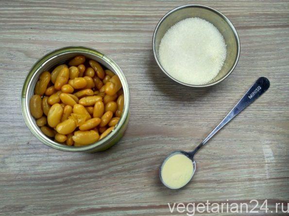 Ингредиенты для приготовления торта птичье молоко