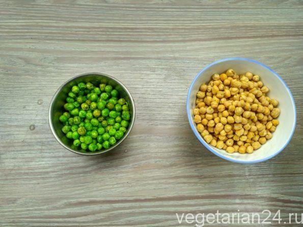 Ингредиенты для приготовления фалафеля