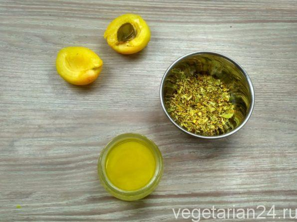 Ингредиенты для приготовления чая