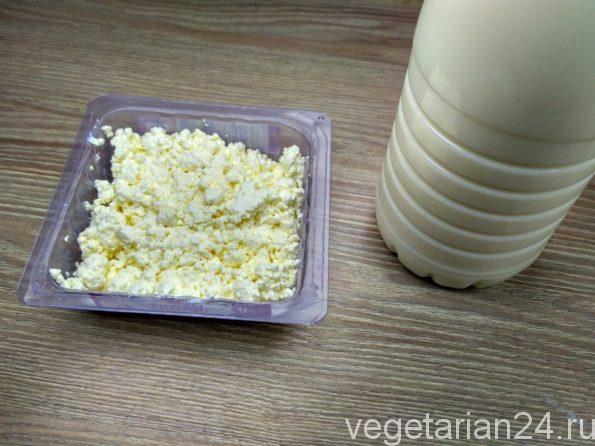 Ингредиенты для приготовления сыра