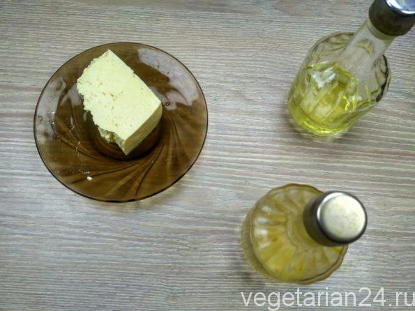 Ингредиенты для приготовления постного майонеза