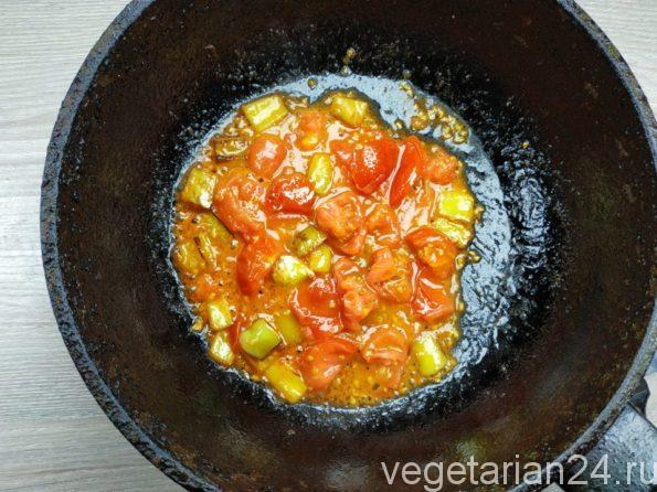 Готовим зажарку для супа
