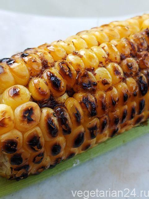Кукуруза на углях (кукуруза Арамболь)
