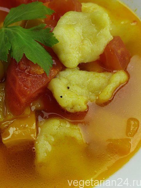 постный суп мампар